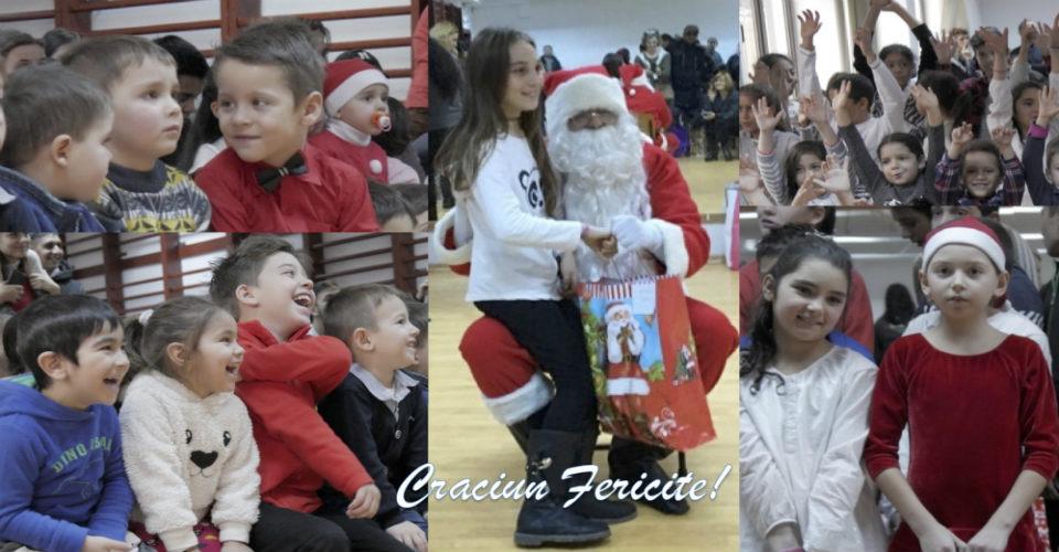 O frumoasă sărbătoare de Crăciun pentru toții copiii din Valentina !