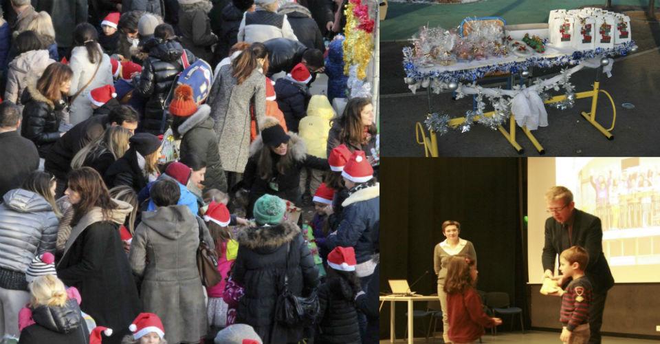 La maternelle du Lycée français de Bucarest se mobilise pour Valentina