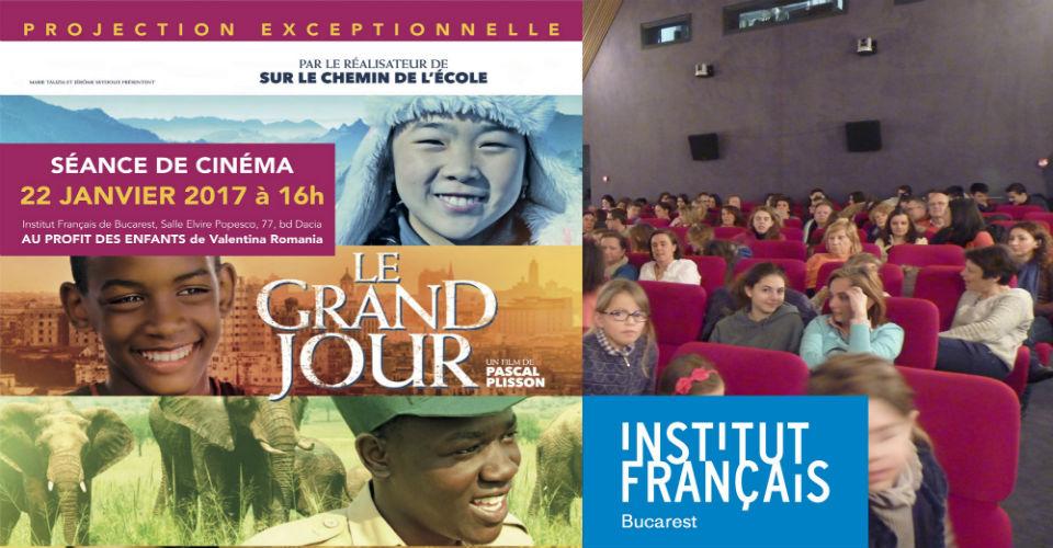 Un Grand Jour au cinéma pour Valentina Romania