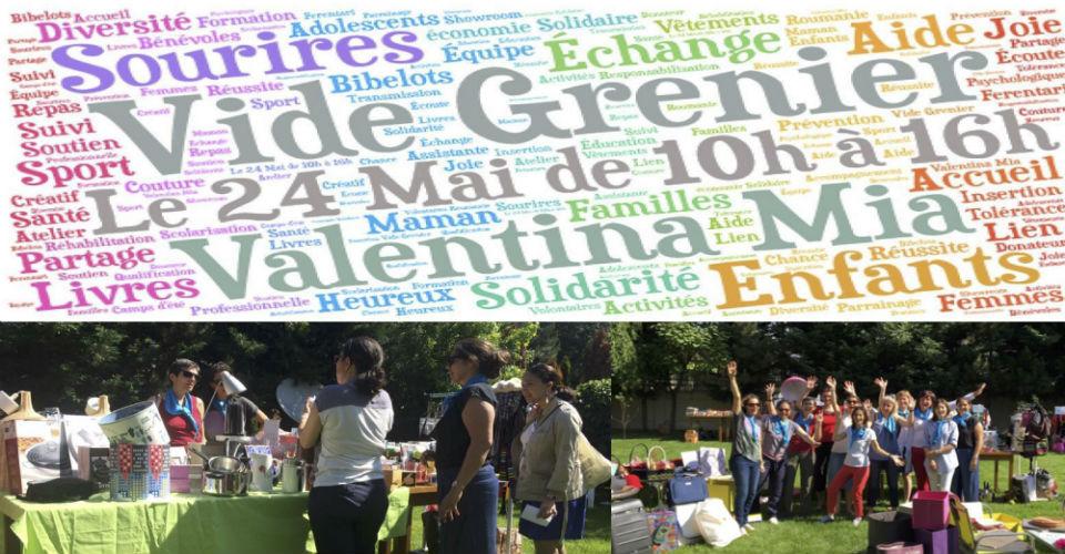 Premier vide-grenier solidaire pour Valentina