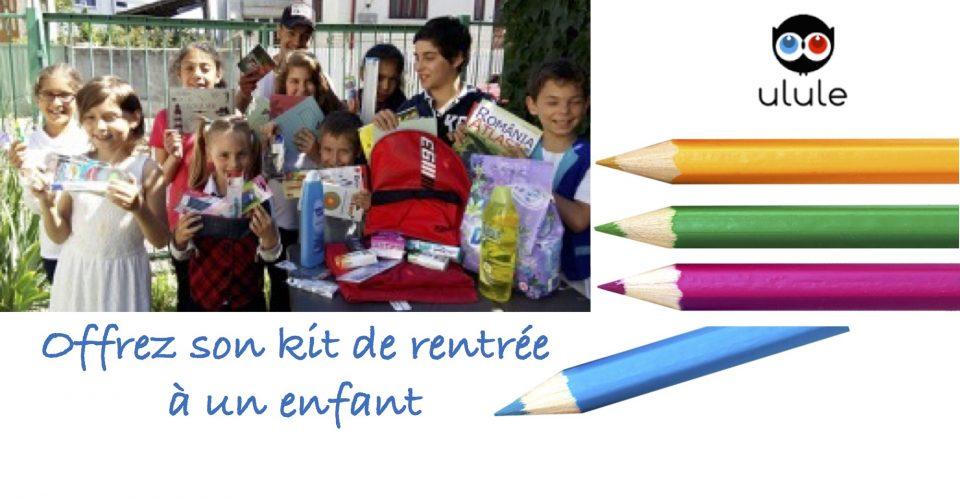 Avec Valentina România, soutenez l'éducation d'un enfant