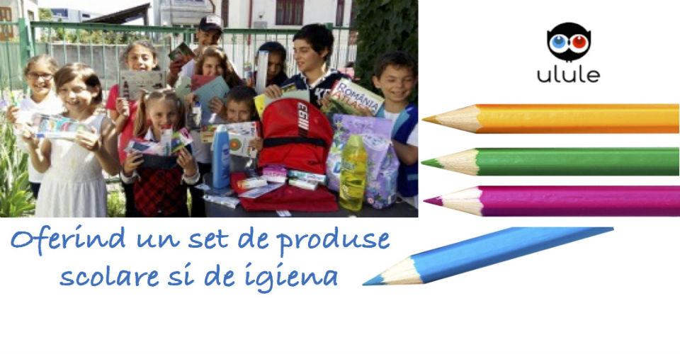 Oferiti un suport pentu inceperea anului scolar copiilor din programele Asociatiei  Valentina Romania !