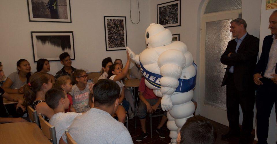 Visite de notre partenaire Michelin à la Casa